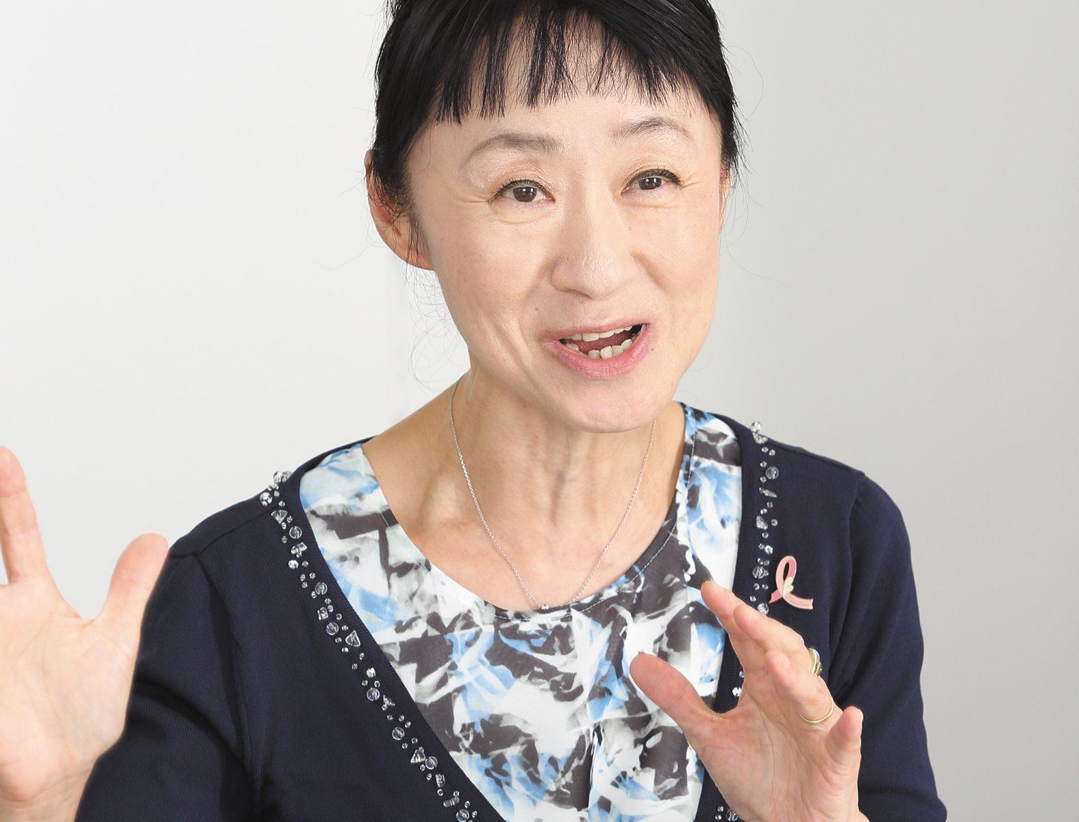 乳腺外科医 土井卓子先生